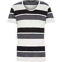 Grey stripe Only & Sons t-shirt