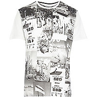 White Only & Sons printed t-shirt