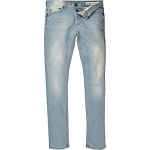 Light wash Only & Sons slim jeans