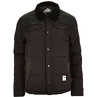Black Bellfield padded shearing jacket