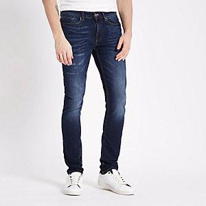 Mid wash Eddy skinny stretch jeans