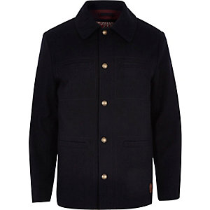 Navy Tokyo Laundry button up jacket