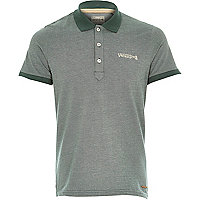 Green Jack & Jones Vintage polo shirt