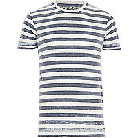 Blue stripe Jack & Jones Vintage t-shirt