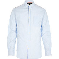 Blue Jack & Jones Premium stripe shirt