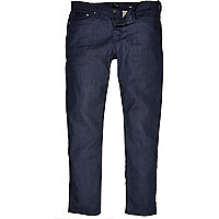 Mid wash coated Dylan slim jeans