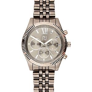 Grey three dial watch