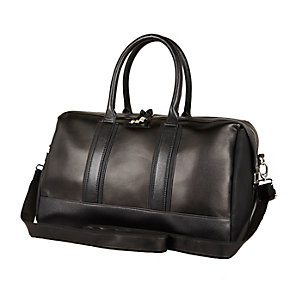 Black structured holdall