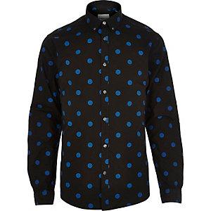 Black Jack & Jones Premium large spot shirt