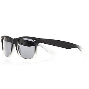 Grey faded retro sunglasses