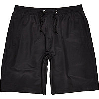 Black RI Studio panelled shorts