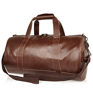 Brown holdall bag