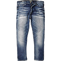 Mid wash Jack & Jones Vintage slim jeans