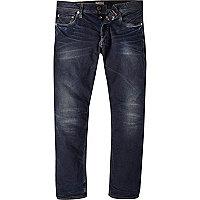 Dark wash Jack & Jones Vintage slim jeans