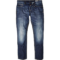Blue coated Bellfield slim jeans