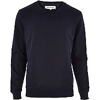 Navy long sleeve sweatshirt