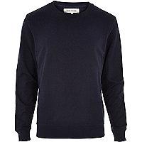 Navy long sleeve sweatshirt