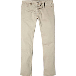 Stone denim skinny jeans