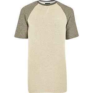 Grey Antioch raglan sleeve sweatshirt