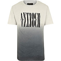 Grey Antioch dye t-shirt