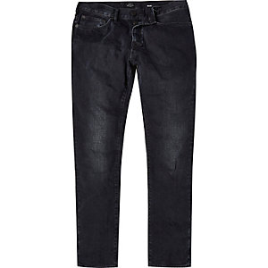 Washed black Dylan slim jeans