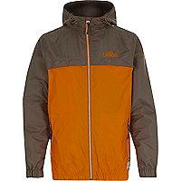 Orange Tokyo Laundry block colour jacket