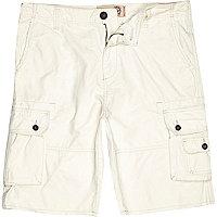 Ecru Tokyo Laundry cargo shorts