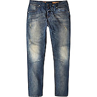 Mid wash Tokyo Laundry distressed jeans