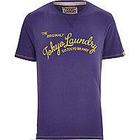 Purple Tokyo Laundry print t-shirt
