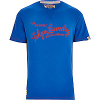 Blue Tokyo Laundry print t-shirt
