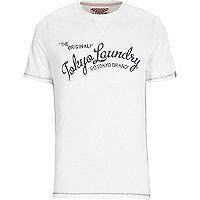 Ecru Tokyo Laundry print t-shirt