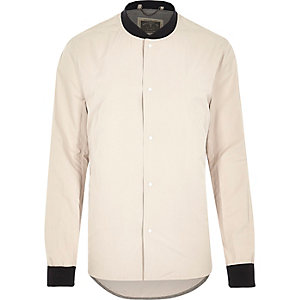 Ecru Holloway Road longer length shirt