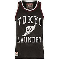 Black Tokyo Laundry mesh vest