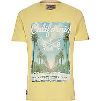Yellow Tokyo Laundry California t-shirt