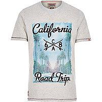 Brown Tokyo Laundry California t-shirt