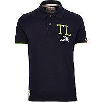Navy Tokyo Laundry polo shirt