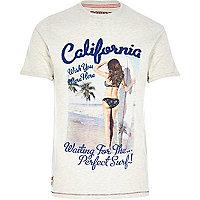 Stone Tokyo Laundry beach print t-shirt