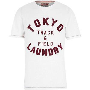 Ecru Tokyo Laundry track and field t-shirt