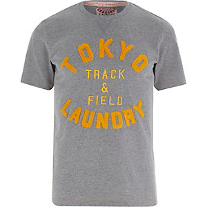 Grey Tokyo Laundry track and field t-shirt