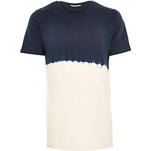 Navy RVLT tie dye t-shirt