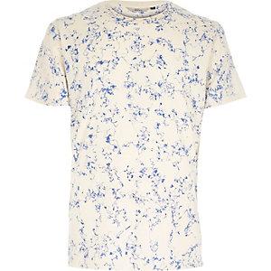 Navy RVLT web print t-shirt