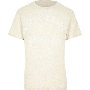 Ecru 53 East Street print t-shirt
