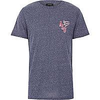 Navy superior league short sleeve t-shirt
