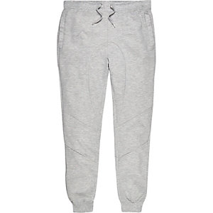 Light grey panelled joggers