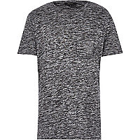 Grey marl short sleeve t-shirt