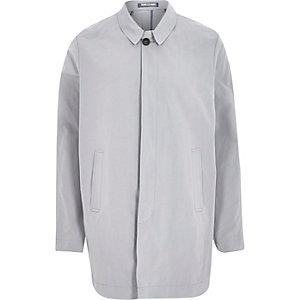 Grey Holloway Road lightweight mac coat