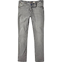 Grey wash Holloway Road slim jeans