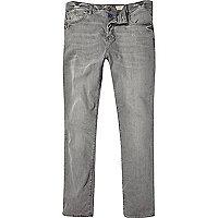 Grey wash Holloway Road slim jeans