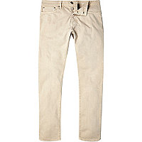 Light brown Dylan slim jeans