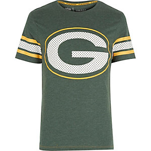 Green NFL Green Bay Packers team t-shirt